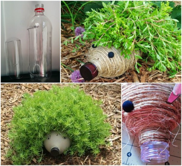 Amazing diy plastic bottle crafts for your garden diy for Diy plastic bottle crafts