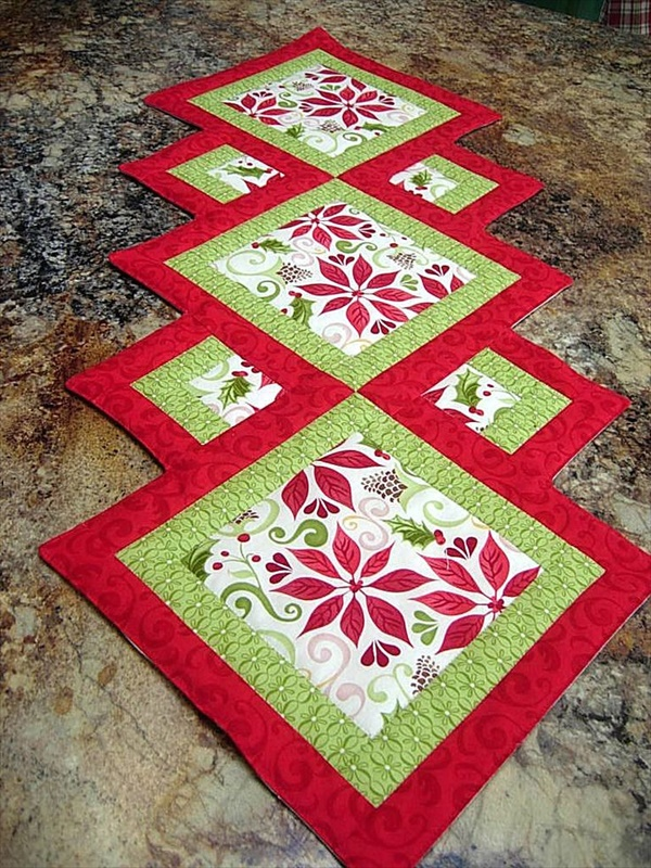 table runner 14 1 Beautiful DIY Table Runner Ideas That Will Beatify Your Home