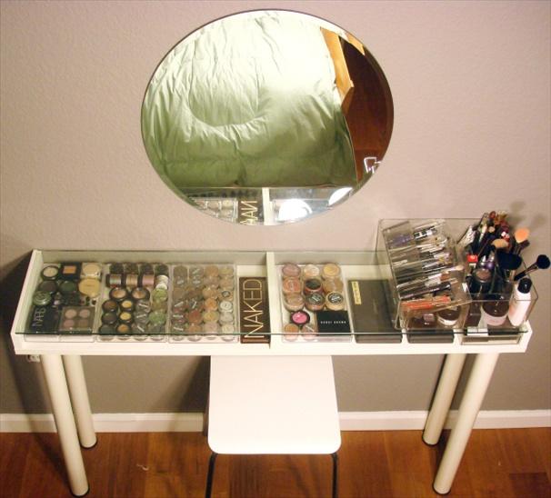 vanity011 Cheap DIY Makeup Vanity Table Ideas