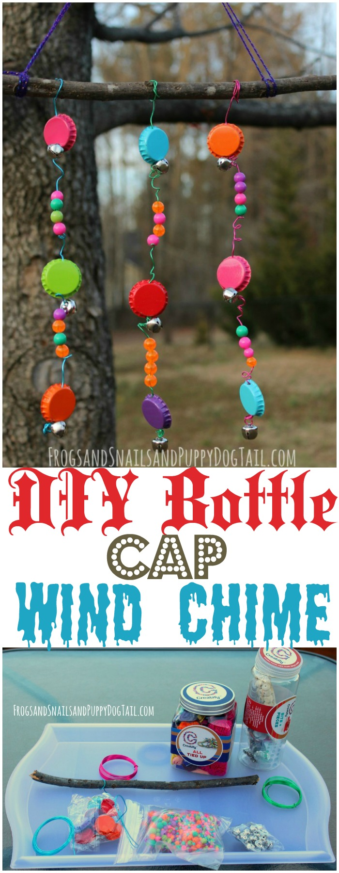 Outstanding DIY Wind Chimes Ideas To Make Your Home Marvelous DIY Bottle Cap Wind Chime