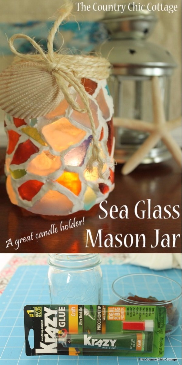 Sea Glass Mosaic Mason Jar Luminaries 15 Mind Blowing Mosaic Projects For Your Indoor And Outdoor