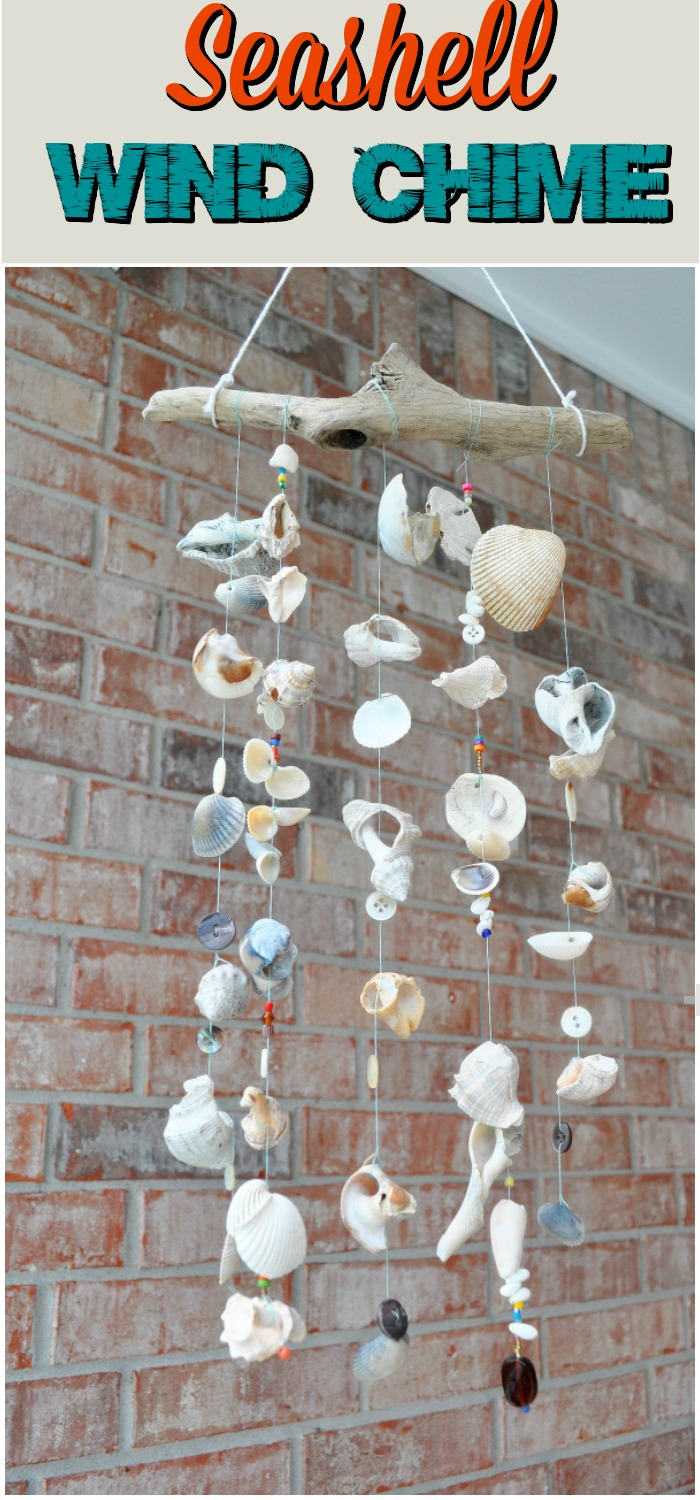 Outstanding DIY Wind Chimes Ideas To Make Your Home Marvelous Seashell Wind Chime