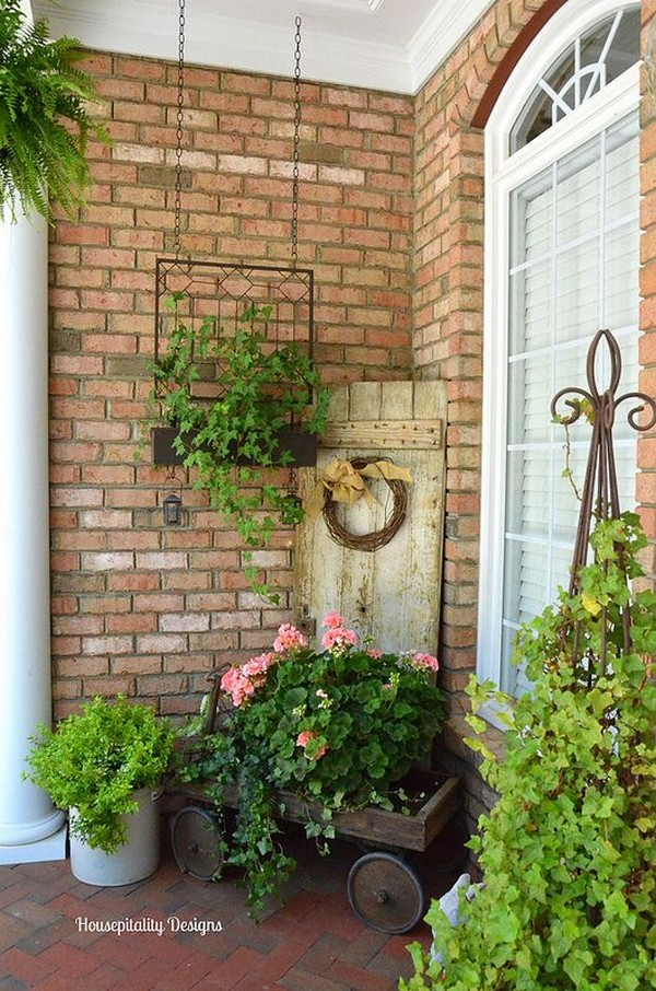 Summer Porch Decorations to Inspire You  Bring Spring to Your Front Porch