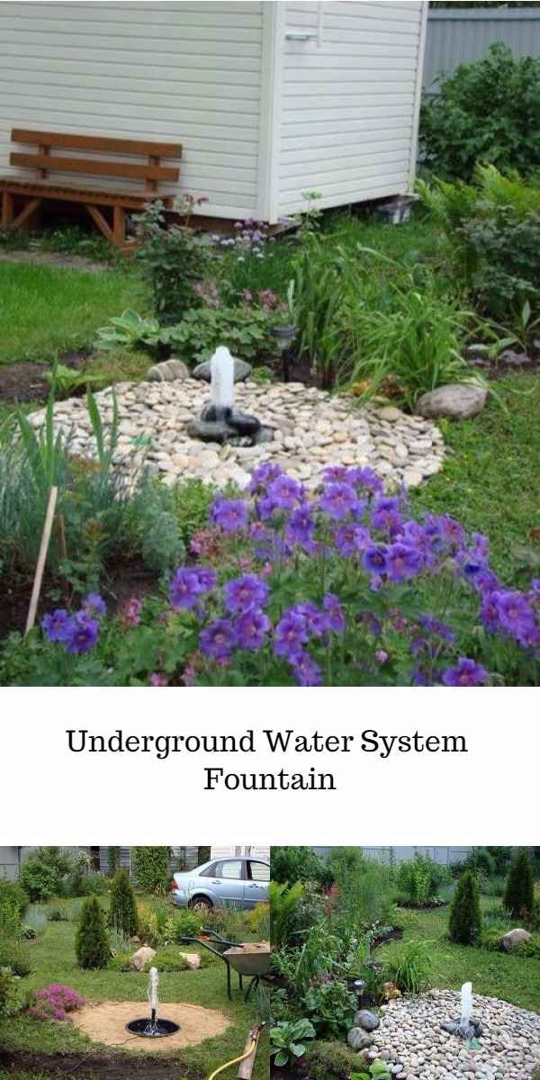 Underground Water System Fountain DIY Water Feature Ideas To Make Your Home And Garden Lovely