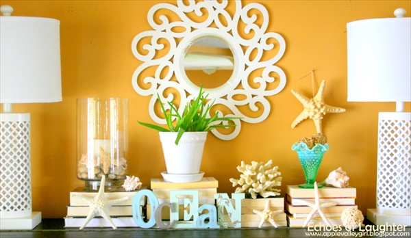 Beautiful bright color summer decorations