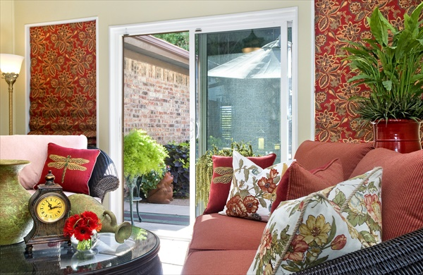 Give a fresh sunshine to your sunroom