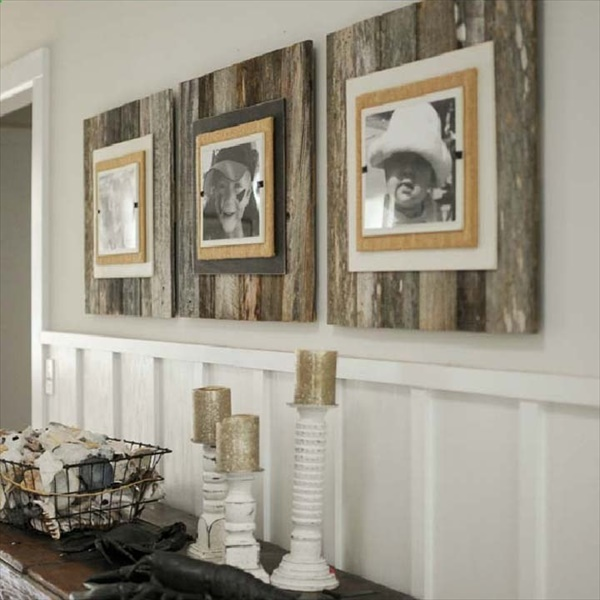 Farmhouse décor projects That Everyone Can Try Rustic Photo Hanging Wall Art