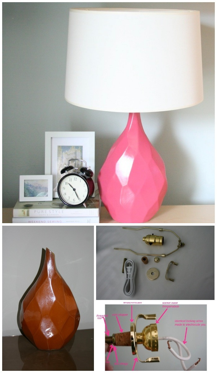 DIY Furniture Makeovers To Brighten Up Your Home Create Your Own Table Lamp