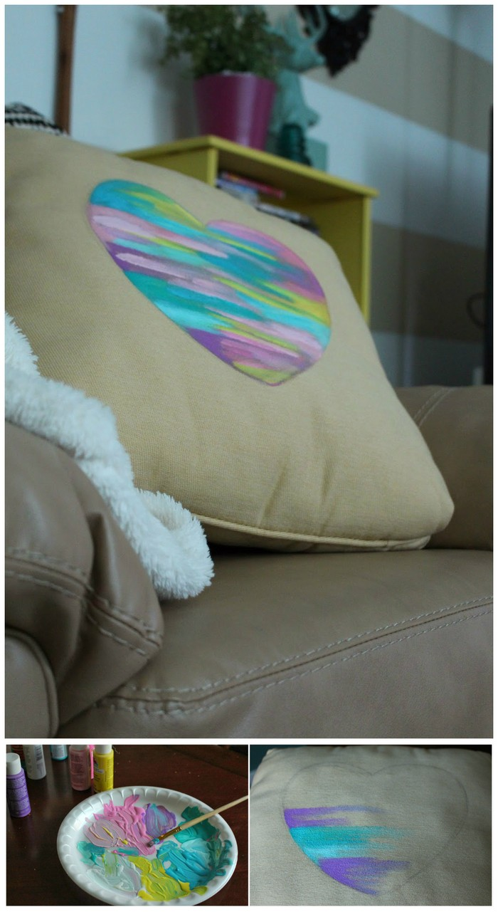 DIY Modern Art and Pillow Templates for Spring DIY Pillow Ideas That Will Change Room Look