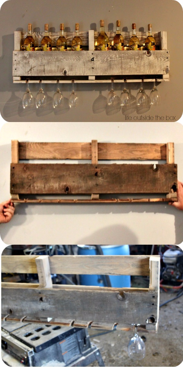 DIY Pallet Wine Rack DIY Pallet Ideas To Make Your Kitchen Stunning