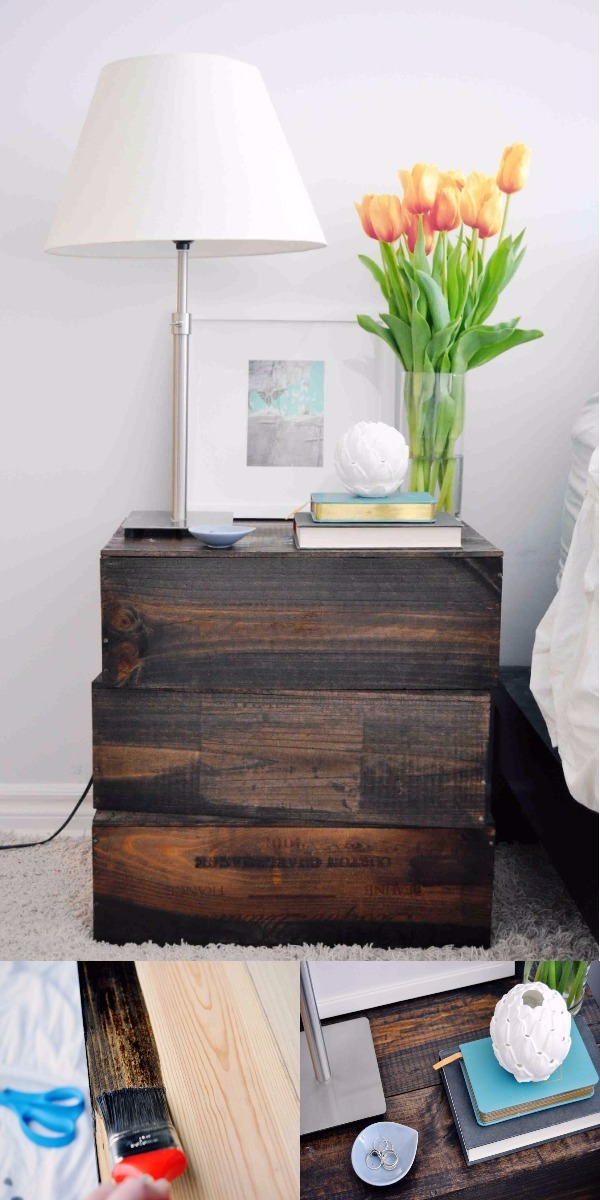 DIY Home Decor Ideas That Will Brighten Up Your Space Create A DIY Nightstand