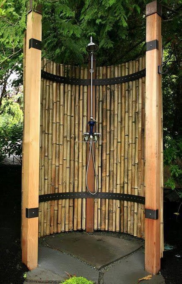 Modern Outdoor Shower Ideas DIY Bamboo Crafts That Will Make Your Home Beautiful