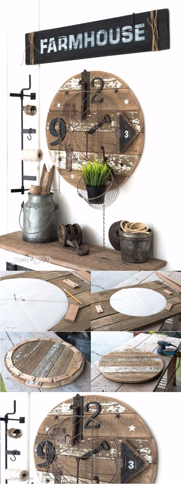 clock Upcycling Projects To Make Your Home Gorgeous