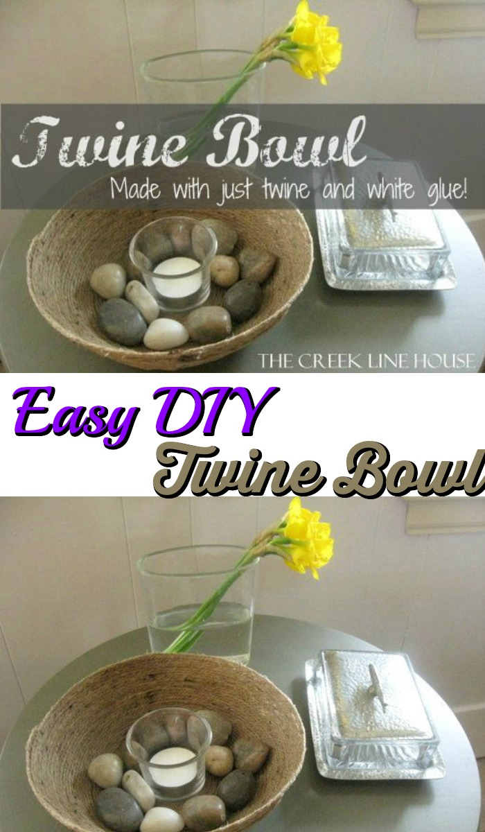 Easy DIY Twine Bowl Upcycling Projects To Make Your Home Gorgeous