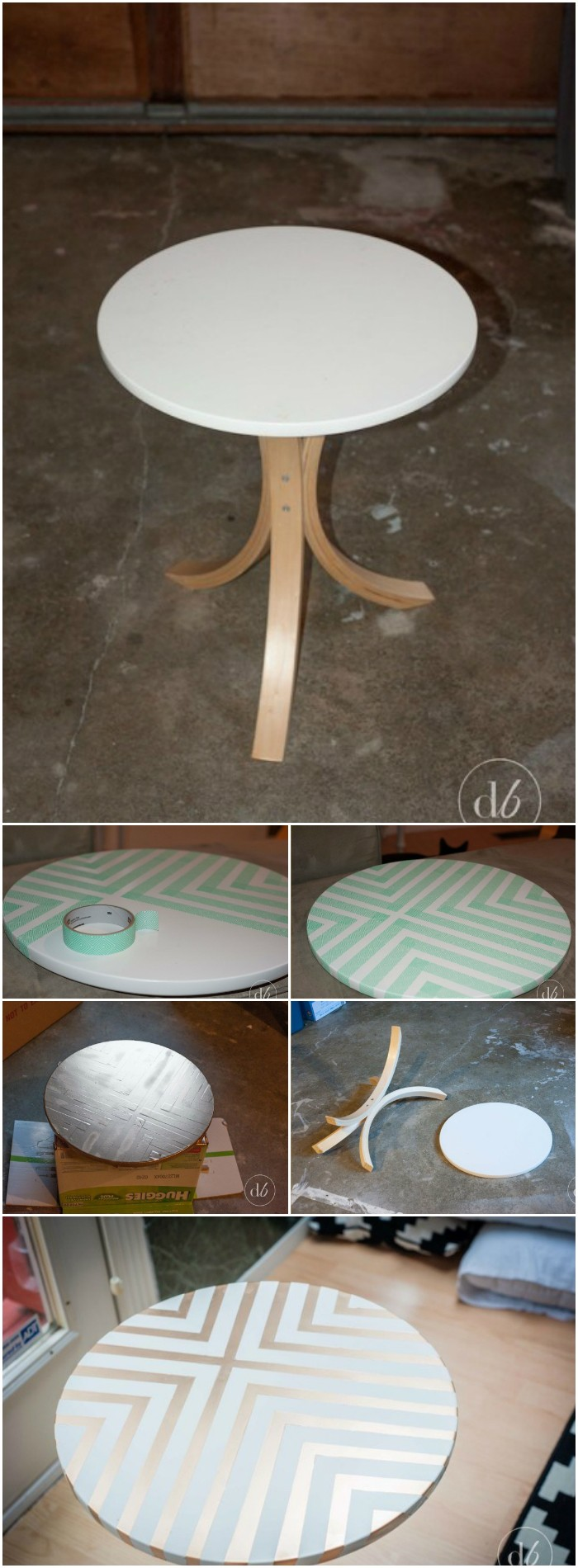 IKEA Side Table Makeover IKEA Hacks For Your Home Decor