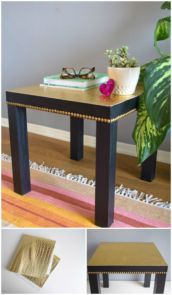 Studded End Table IKEA Hacks For Your Home Decor