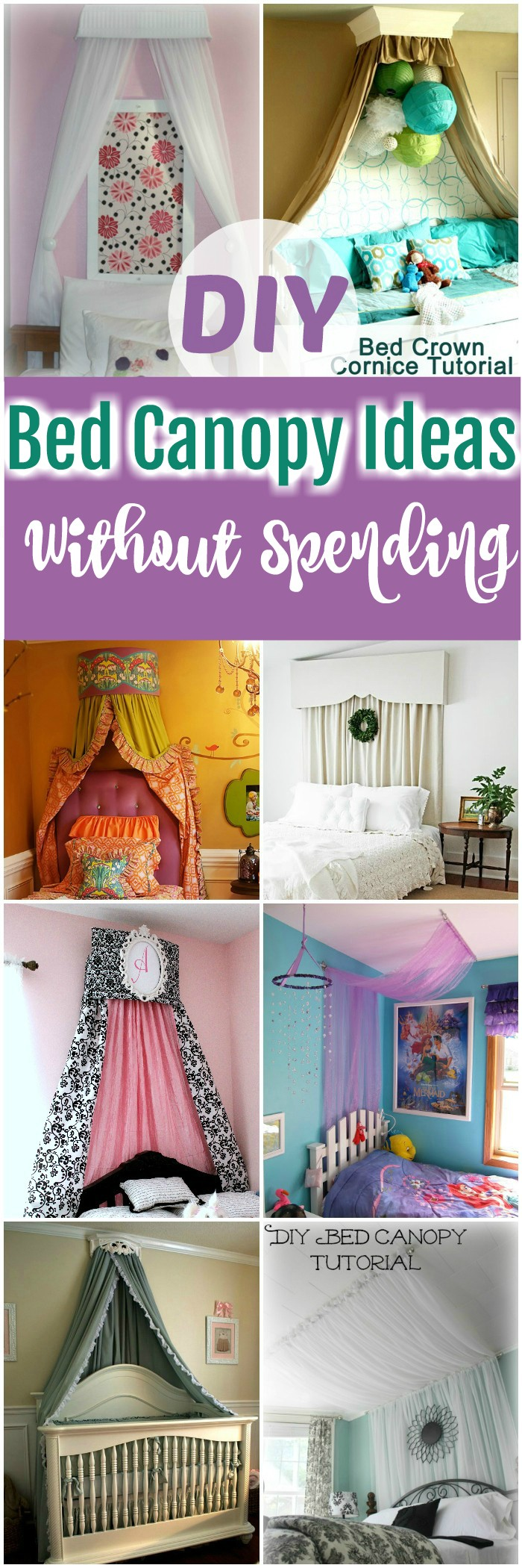DIY Bed Canopy Ideas DIY Bed Canopy Ideas Without Spending A Lot