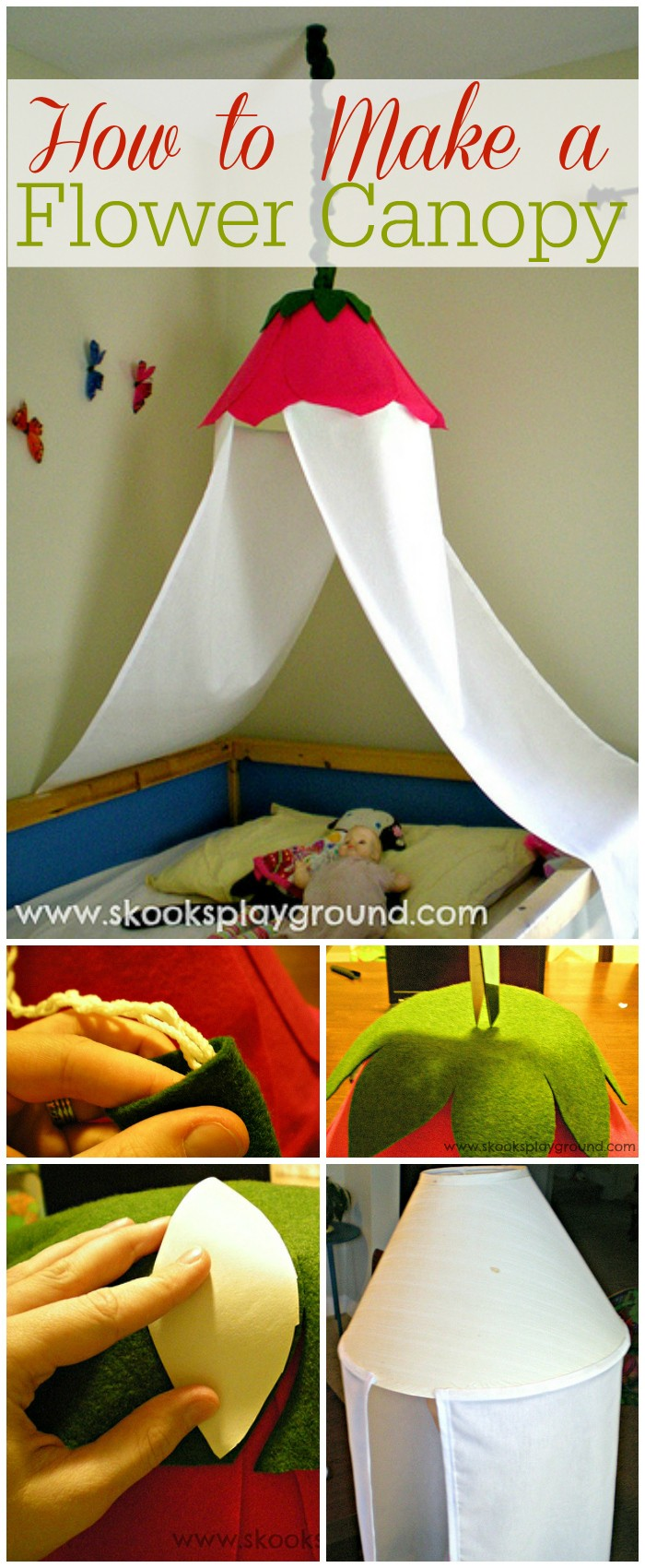 How to Make a Flower Canopy DIY Bed Canopy Ideas Without Spending A Lot