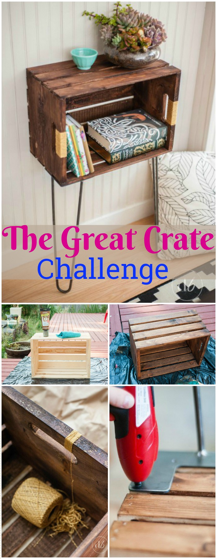 DIY Projects For The Home Decorations The Great Crate Challenge