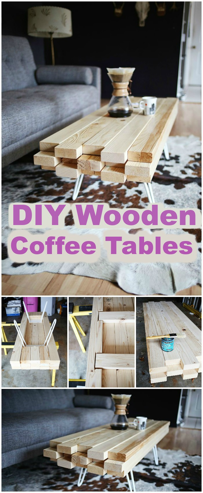 15 cheap free plans to build a diy coffee tables Homemade coffee table plans
