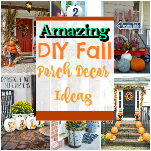 20 Amazing DIY Fall Porch Decor Ideas