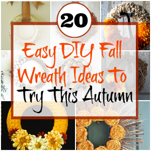 20 Easy DIY Fall Wreath Ideas To Try This Autumn