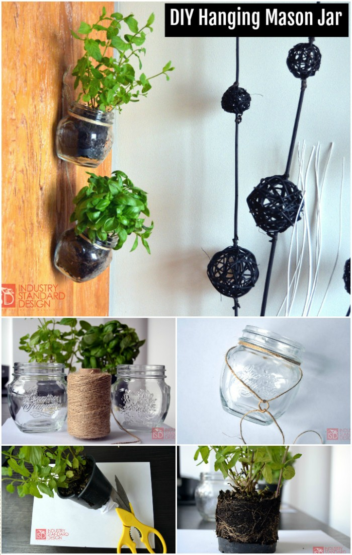 DIY Hanging Mason Jar DIY Home Decor Projects To Make Your Home Cute