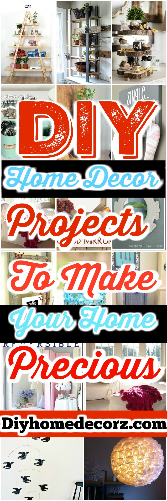 DIY Home Decor Projects DIY Home Decor Projects To Make Your Home Precious