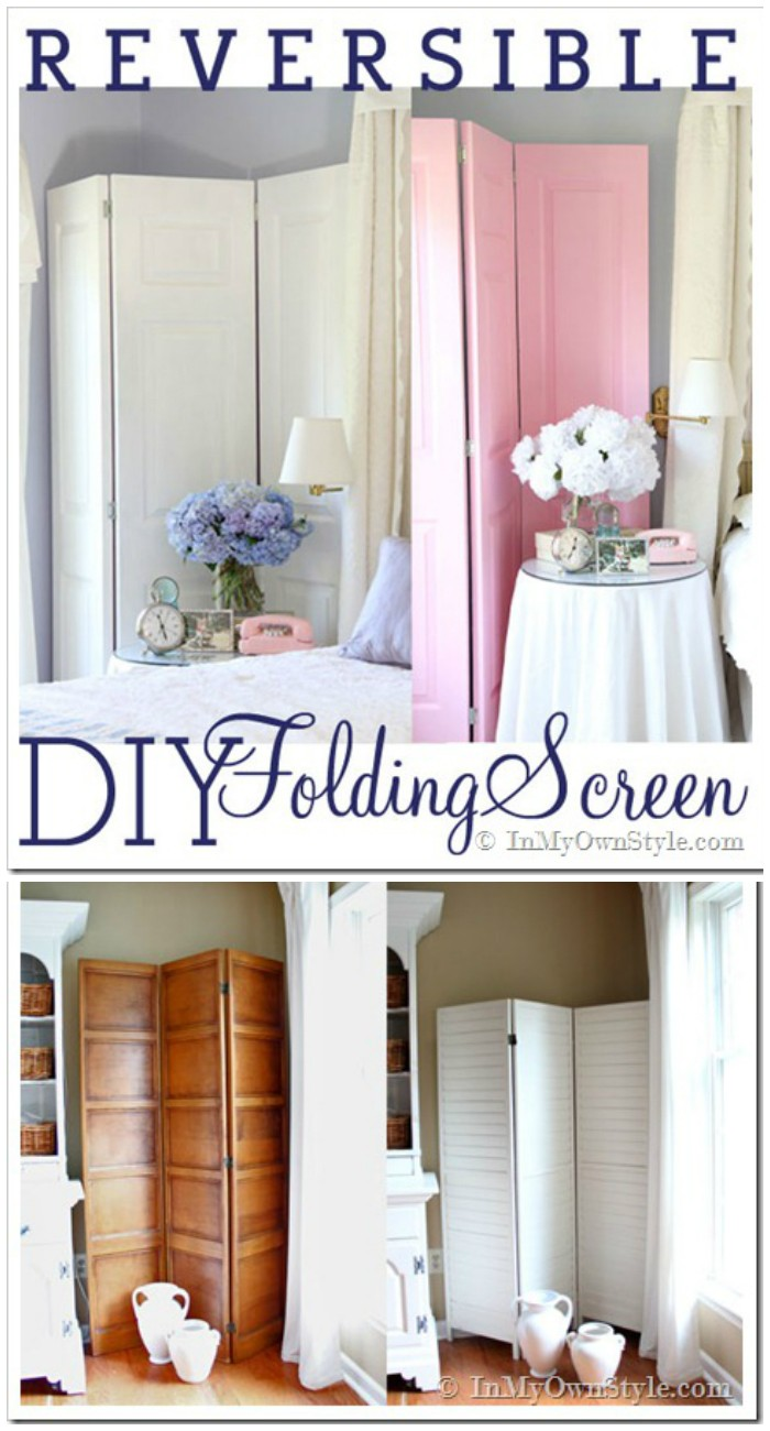 DIY Reversible Folding DIY Home Decor Projects To Make Your Home Cute