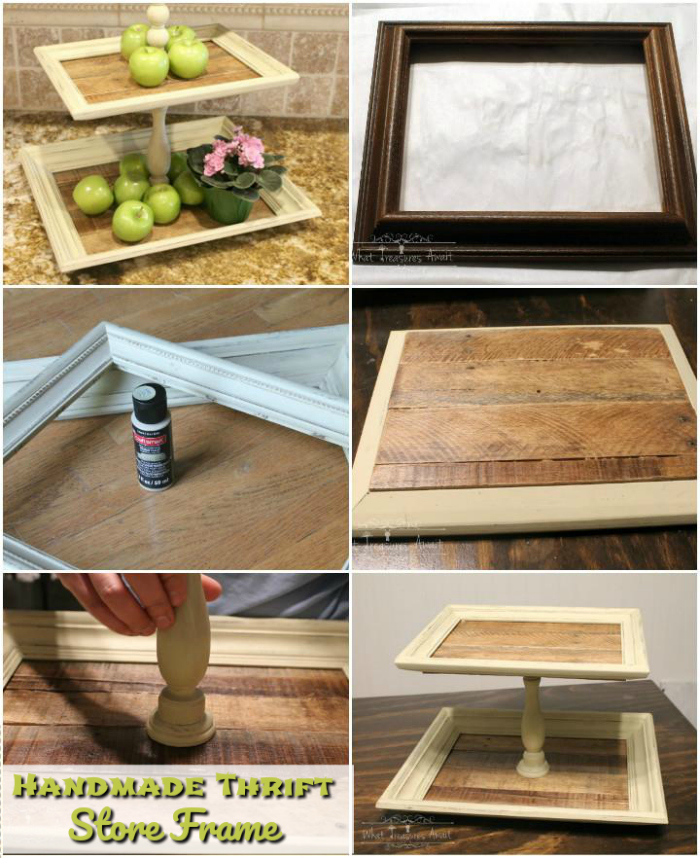 DIY Thrift Store Frame DIY Home Decor Projects To Make Your Home Precious