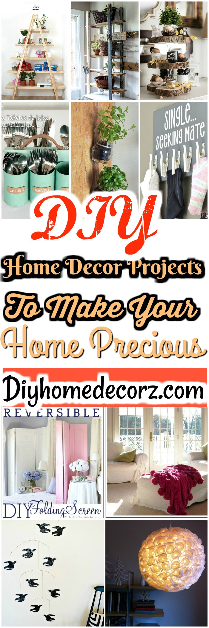 Diy home decor DIY Home Decor Projects To Make Your Home Precious
