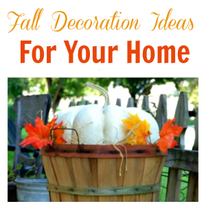 Fall Decoration Ideas For Your Home