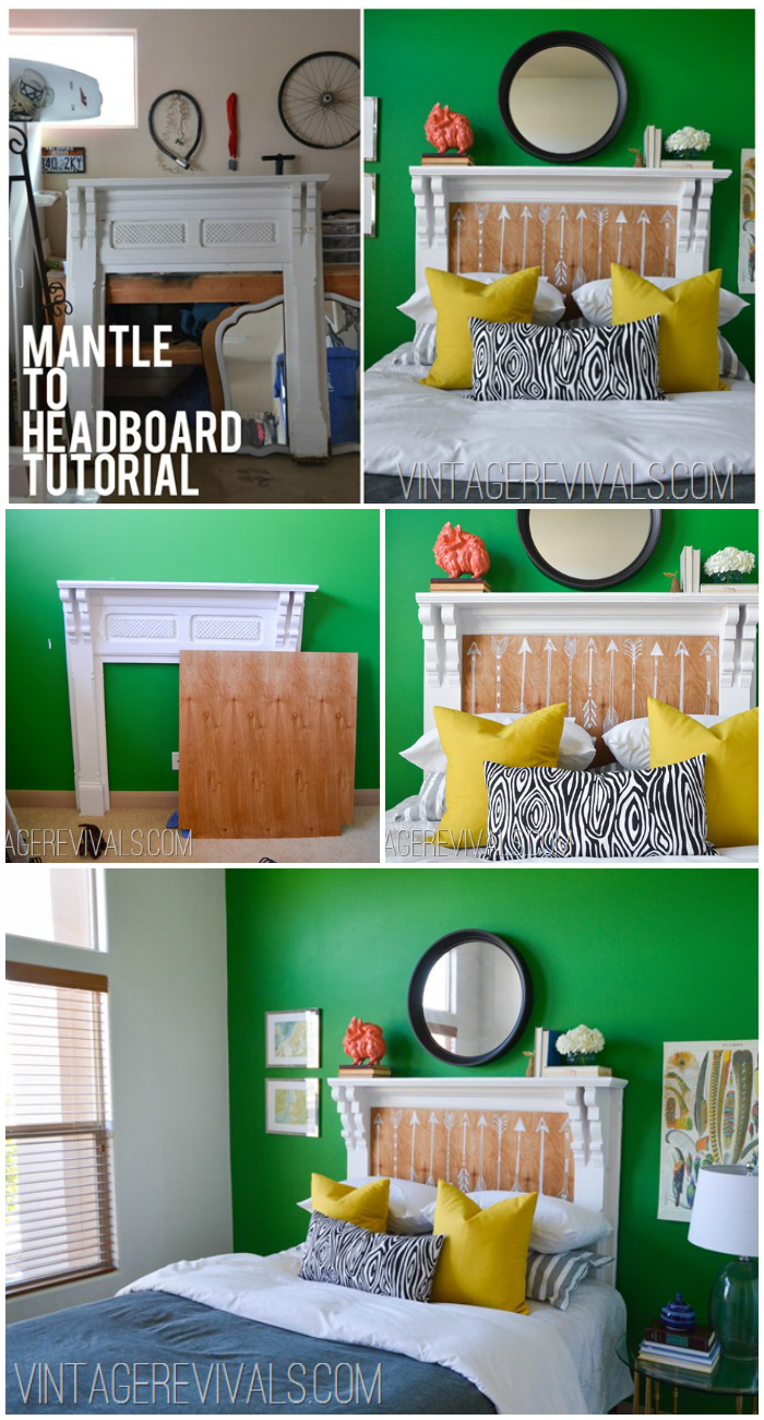 Mantle To Headboard Tutorial!
