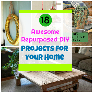 18 Awesome Repurposed DIY Projects For Your Home