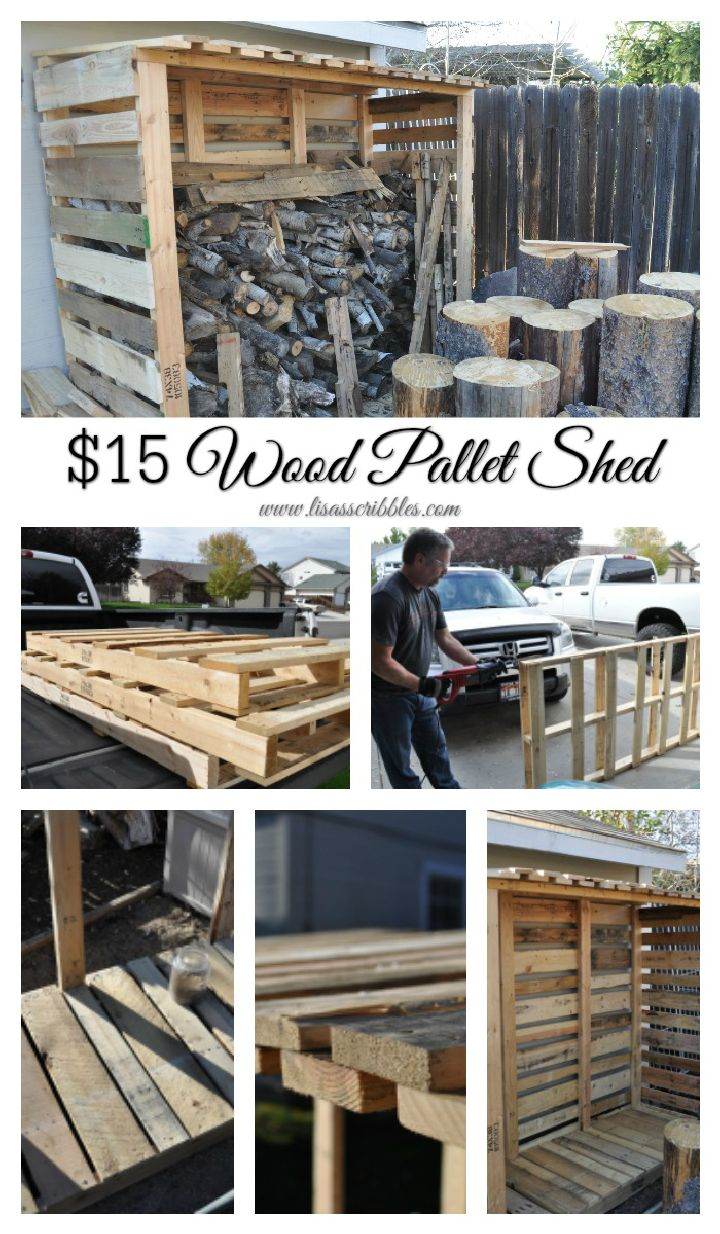 DIY Wood Pallet Shed