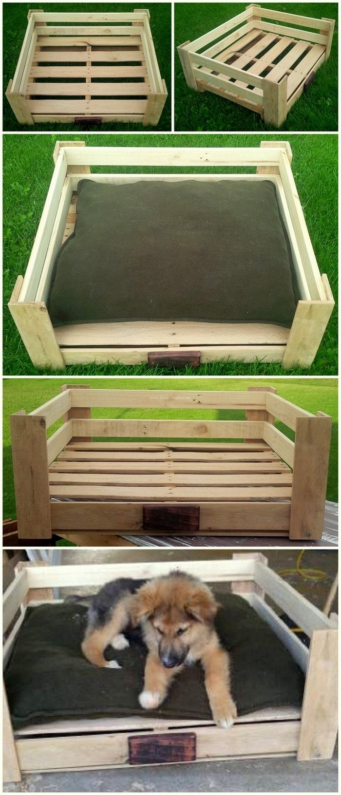 A Dog House Cheap And Easy To Make Pallet Crafts
