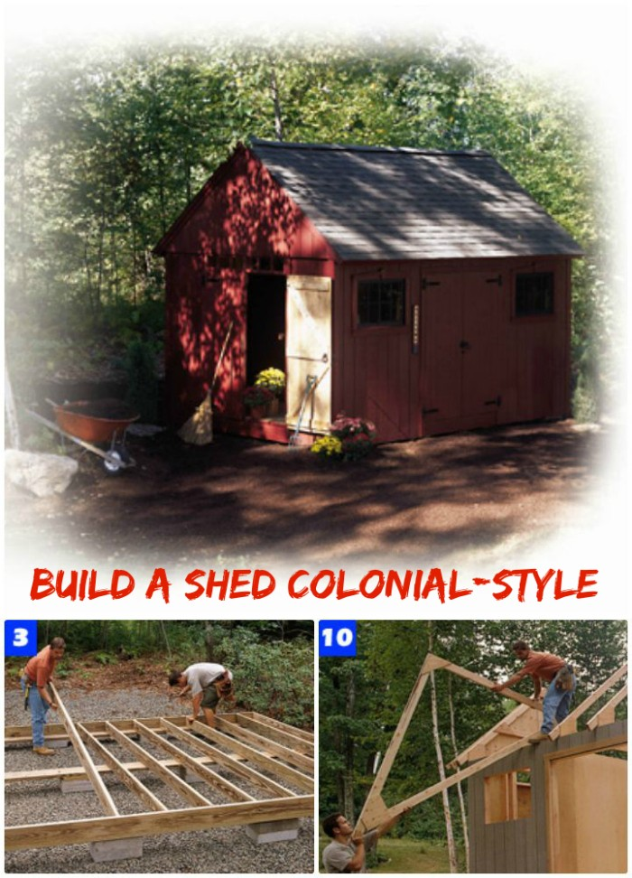 30 Cheap And Easy DIY Shed Plans • DIY Home Decor