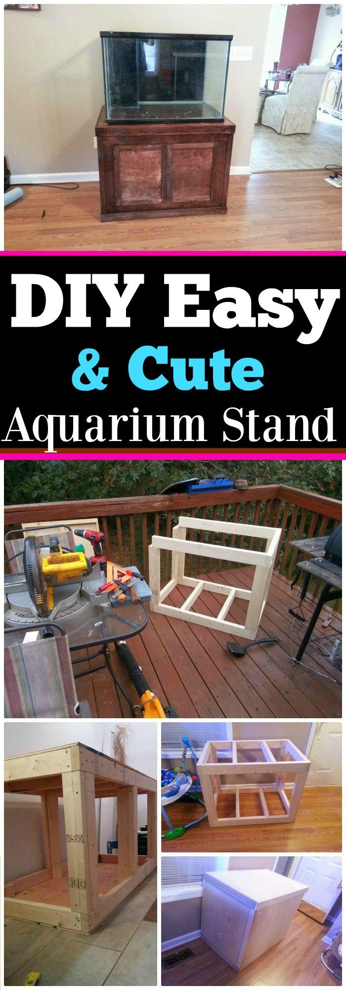 Cute Aquarium Stand