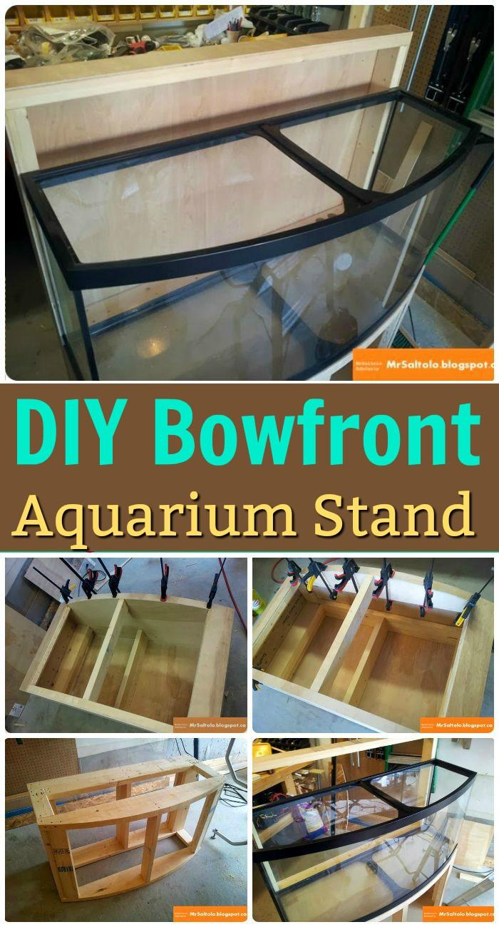 DIY Bowfront Aquarium