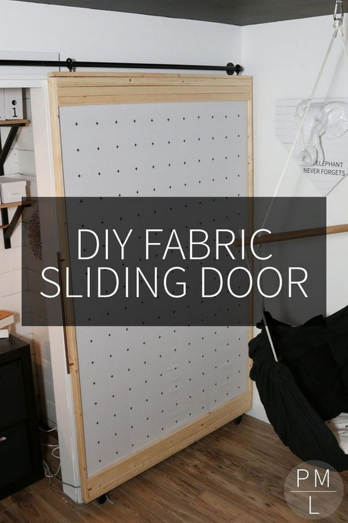 DIY Fabric Barn Door DIY Barn Door Ideas To Make Your Home Gorgeous