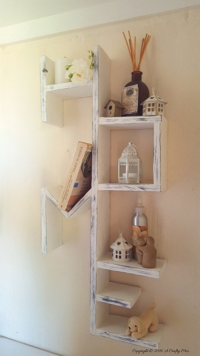 DIY Home Shelf 20 DIY Wood Projects For Your Home Decor