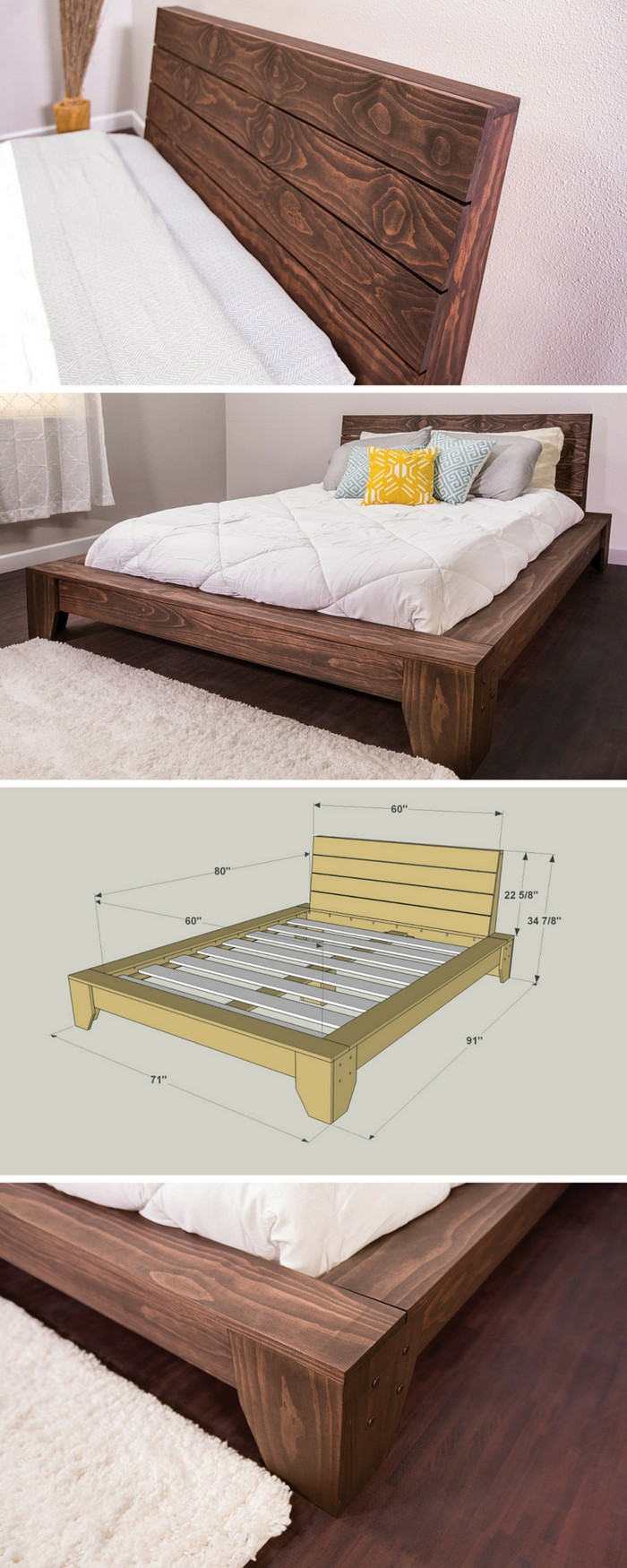 Diy bed ideas to make your bedroom fabulous diy home decor for Diy for your bedroom