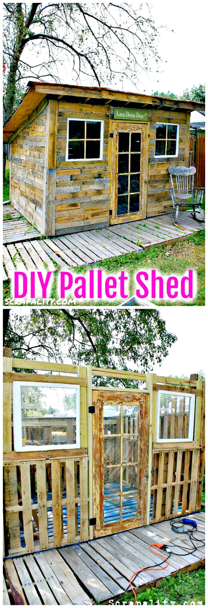 DIY Pallet Shed 30 Cheap And Easy DIY Shed Plans