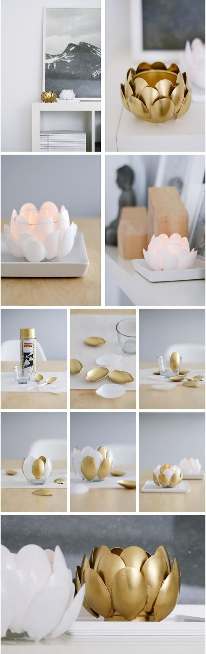 DIY Water Lilies DIY Home Décor Crafts To Make Your Home Beautiful