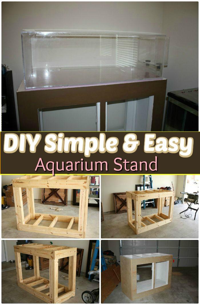 Easy Aquarium Stand