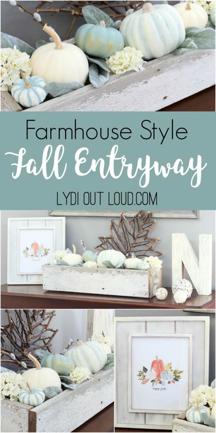 Fall Entryway Decor fall craft ideas | fall craft ideas for kids | fall craft ideas for adults | fall craft ideas for the home