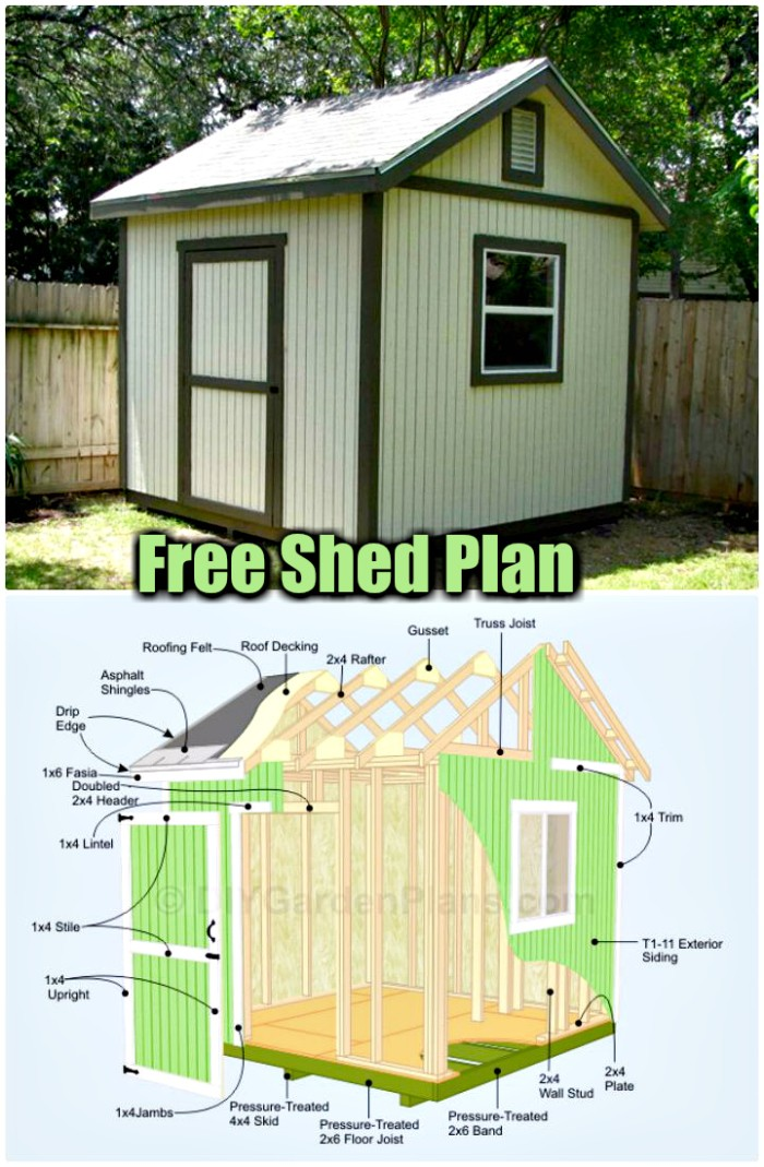 30 cheap and easy diy shed plans diy home decor for Shed layout planner