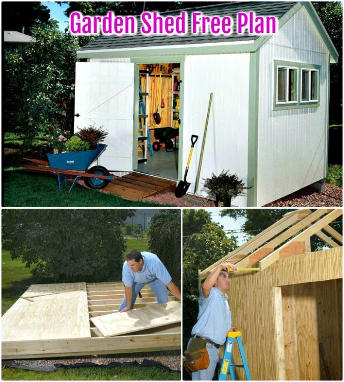 Garden Shed Free Plan