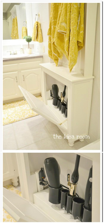 DIY Bathroom Organization And Storage Ideas • DIY Home Decor