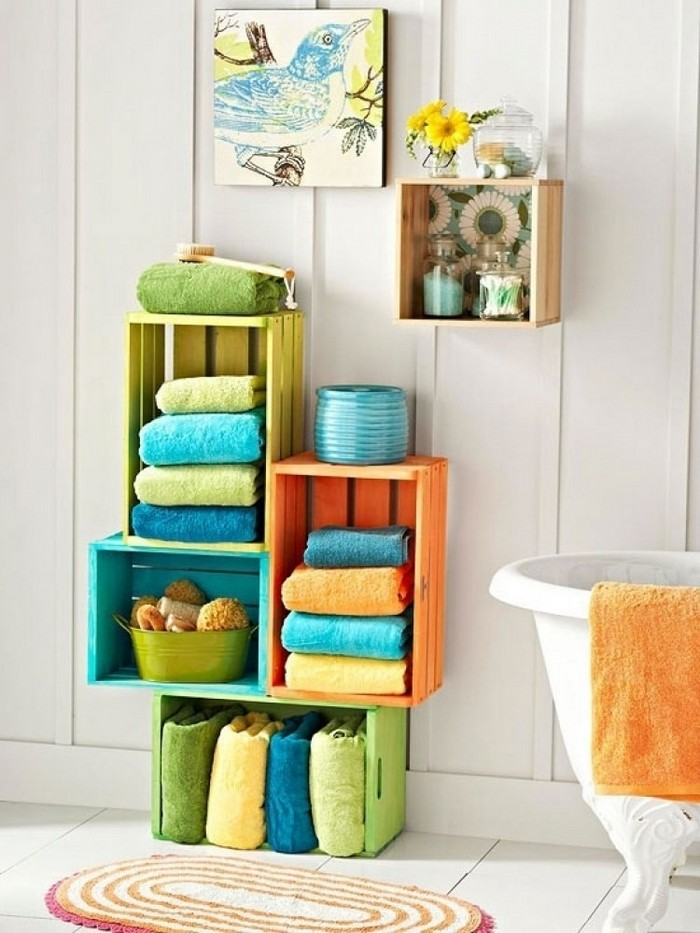 Multiple Storage Ideas DIY Bathroom Organization And Storage Ideas